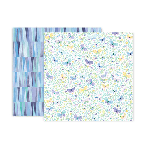 Paige Evans - Bloom Street Collection - 12 x 12 Double Sided Paper - Paper 8