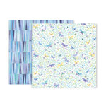 Pink Paislee - Bloom Street Collection - 12 x 12 Double Sided Paper - Paper 8