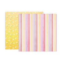 Pink Paislee - Bloom Street Collection - 12 x 12 Double Sided Paper - Paper 14