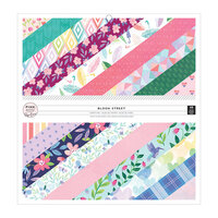 Pink Paislee - Bloom Street Collection - 12 x 12 Paper Pad