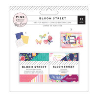 Pink Paislee - Bloom Street Collection - 2 x 2 Paper Pad - Swatch Book