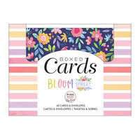 Pink Paislee - Bloom Street Collection - Boxed Cards