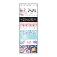 Pink Paislee - Bloom Street Collection - Washi Tape with Iridescent Foil Accents