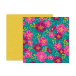 Pink Paislee - And Many More Collection - 12 x 12 Double Sided Paper - Paper 3