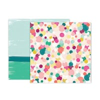 Pink Paislee - And Many More Collection - 12 x 12 Double Sided Paper - Paper 5