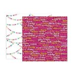 Pink Paislee - And Many More Collection - 12 x 12 Double Sided Paper - Paper 7