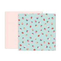 Pink Paislee - And Many More Collection - 12 x 12 Double Sided Paper - Paper 11