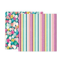 Pink Paislee - And Many More Collection - 12 x 12 Double Sided Paper - Paper 12