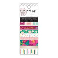 Pink Paislee - And Many More Collection - Washi Tape with Foil Accents