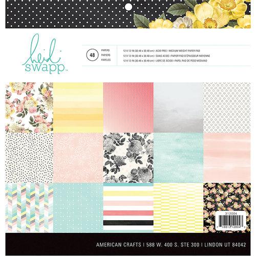 Heidi Swapp - Memory Planner - 12 x 12 Paper Pad - Hello Gorgeous
