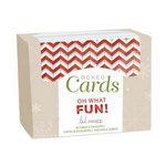 Heidi Swapp - Christmas - Boxed Card Set - Oh What Fun