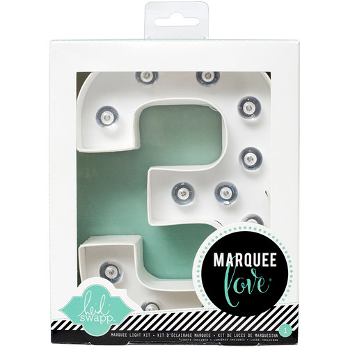 Heidi Swapp - Marquee Love Collection - Marquee Kit - Number 3