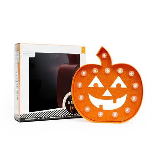 Heidi Swapp - Marquee Love Collection - Halloween - Marquee Kit - Pumpkin