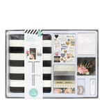Heidi Swapp - Memory Planner Kit with Foil Accents - Black and White