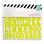 Becky Higgins - Project Life - Heidi Swapp Collection - Cardstock Stickers - Alphabet