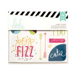 Becky Higgins - Project Life - Heidi Swapp Collection - Clear Stickers - Jumbo