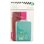 Becky Higgins - Project Life - Heidi Swapp Collection - Interactive Pockets