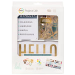 Becky Higgins - Project Life - Heidi Swapp Collection - Value Kit - Naturals