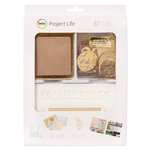 Becky Higgins - Project Life - Heidi Swapp Collection - Value Kit - Kraft Foil