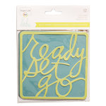 Becky Higgins - Project Life - Heidi Swapp Collection - 4 x 4 - Die Cut Phrases