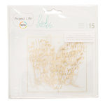 Becky Higgins - Project Life - Heidi Swapp Collection - 4 x 4 Foil Pocket Pages - 15 Pack
