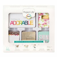 Becky Higgins - Project Life - Heidi Swapp Collection - Core Kit - Prismatic Edition
