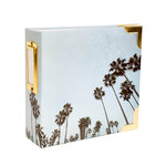 Becky Higgins - Project Life - Heidi Swapp Collection - Album - 4 x 4 D-Ring - Palm Tree