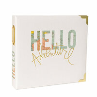 Becky Higgins - Project Life - Heidi Swapp Collection - Album - 8 x 8 D-Ring - Hello