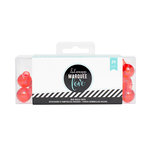 Heidi Swapp - Marquee Love Collection - Christmas - Extra Bulb Covers - Red