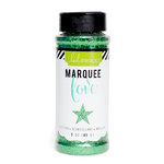 Heidi Swapp - Marquee Love Collection - Christmas - Chunky Glitter Jar - Dark Green - 3 Ounces