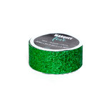 Heidi Swapp - Marquee Love Collection - Christmas - Glitter Tape - Dark Green - 0.875 Inches Wide