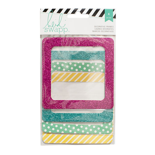 Heidi Swapp - 4 x 4 Photo Frames - Bright