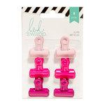 Heidi Swapp - Bulldog Clips - Pinks