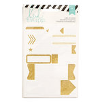 Heidi Swapp - Cardstock Stickers - Labels - Gold