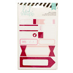Heidi Swapp - Cardstock Stickers - Labels - Pink