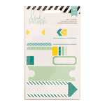 Heidi Swapp - Cardstock Stickers - Labels - Teal