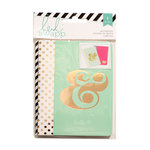 Heidi Swapp - Notebooks - Pink and Mint
