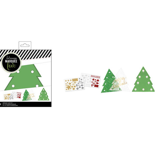 Heidi Swapp - Marquee Love Collection - Christmas - DIY Marquee Kit - Tree