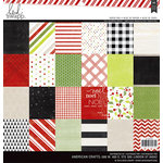 Heidi Swapp - Oh What Fun Collection - Christmas - 12 x 12 Paper Pad