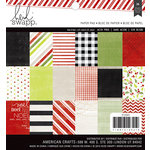 Heidi Swapp - Oh What Fun Collection - Christmas - 6 x 6 Paper Pad