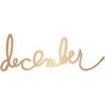 Heidi Swapp - Oh What Fun Collection - Christmas - Metal Dies - December