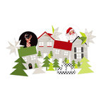 Heidi Swapp - Oh What Fun Collection - Christmas - Paper Shapes