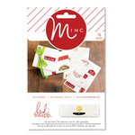 Heidi Swapp - MINC Collection - Christmas - Cardstock Stickers - To and From Labels