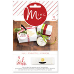 Heidi Swapp - MINC Collection - Christmas - Tags - Shaped Tags