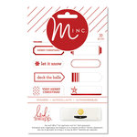 Heidi Swapp - MINC Collection - Christmas - Cardstock Stickers - Mini Labels