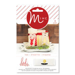 Heidi Swapp - MINC Collection - Christmas - Die Cut Window Tags
