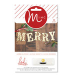 Heidi Swapp - MINC Collection - Christmas - Jumbo Alphabet
