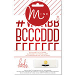 Heidi Swapp - MINC Collection - Christmas - Cardstock Stickers - Small Alphabet