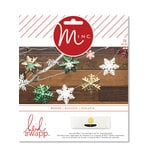 Heidi Swapp - MINC Collection - Christmas - Decor - Snowflake Banner Kit