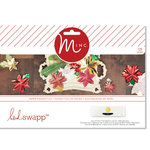 Heidi Swapp - MINC Collection - Christmas - Decor - Poinsettia  Kit